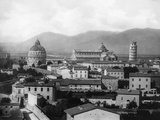 Rooftop View of Pisa Photographic Print