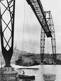 Transporter Bridge in Marseille Photographic Print