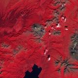 Lava Flow on Kizimen Volcano Photographic Print