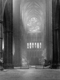 Transept of Westminster Abbey Photographic Print
