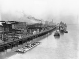 View of St. Louis Waterfront Photographic Print