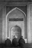 Men Praying at Qibla Niche Photographic Print