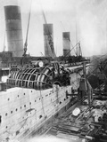 Turbine Engines of Rms Aquitania are Fitted Photographic Print