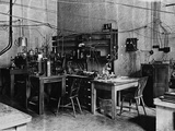 Research Laboratory of Ernest Rutherford at Cambridge Photographic Print