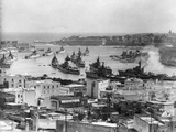 Combined Fleets in Naval Exercise Photographic Print