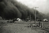 Dust Storm in Springfield Photographic Print