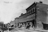 Main Street of New York Town Photographic Print