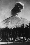 Volcano - Lassen Peak, USA Photographic Print
