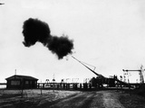 Krupp's 'Big Bertha' Gun Is Fired Photographic Print