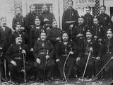 General Staff of Mohammed-Es-Sadok Photographic Print