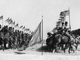 Egyptian Cavalry Rehearse Investiture Parade Photographic Print