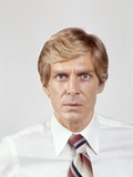 1970s Portrait of Intense Businessman Salesman in Shirt Sleeves Looking at Camera Photographic Print