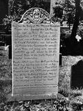 Pioneer's Epitaph Photographic Print