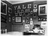 Yale University Bedroom Photographic Print