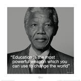 Nelson Mandela Quote Prints