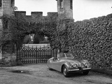 Jaguar XK120 Sports Car Photographic Print