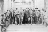 Pancho Villa and General Hugh Scott Papier Photo