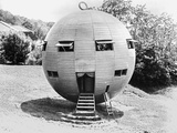 Spherical House Photographic Print