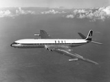 First Flight of the Comet 4 Reproduction photographique