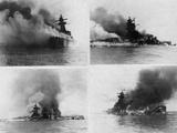 Sinking of Admiral Graf Spee, 1939 Reprodukcja zdjęcia