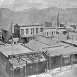 View of Virginia City from the International Hotel Photographic Print