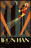 Iron Man Art Deco Prints