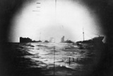 Japanese Ship Sinking Photographic Print