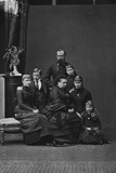 Queen Victoria and the Family of Princess Alice Photographic Print