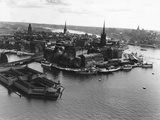 Stockholm from the Air Photographic Print