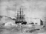 HMS Alert in Arctic Circle Photographic Print
