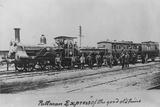 Pullman Express Locomotive Photographic Print