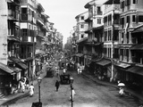 Street of Borah Bazaar Photographic Print