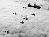 Flying Fortresses in Flight over Germany Photographie