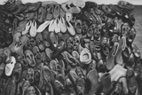 Orphan's Footwear Photographic Print