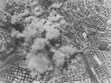 Allied Air Raid on Rome Photographic Print