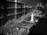 Ceremony at London Cenotaph Photographic Print