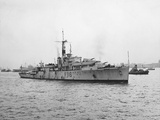 Arrival of HMS Amethyst, Hong Kong 1949 Photographic Print