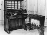 Hollerith Tabulator Photographic Print