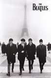 The Beatles - Eiffel Tower Print