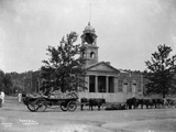 Damaged Town Hall During Boer War Photographic Print