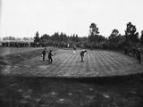 Golf Match Between Vardon and Braid, Ca. 1910 Photographic Print
