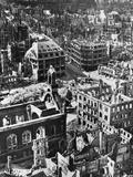 Destruction of Dresden, 1945 Photographic Print