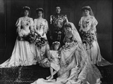 Wedding Party of Princess Margaret of Connaught Photographic Print