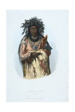 American Indian Engraving Giclee Print by J. Harris