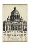 Basilica at the Vatican Poster autor G. de Rossi