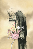 Zombie Affection by Gris Grimly Poster Photo