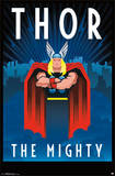 Thor Art Deco Posters