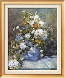 Grande Vaso di Fiori Art by Pierre-Auguste Renoir