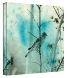 Asian Bird Gallery-Wrapped Canvas Stretched Canvas Print by Elena Ray