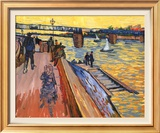 The Bridge at Trinquetaille Posters by Vincent van Gogh